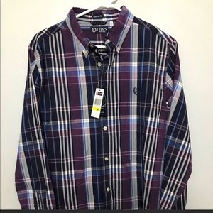 Men's Plaid Button Down